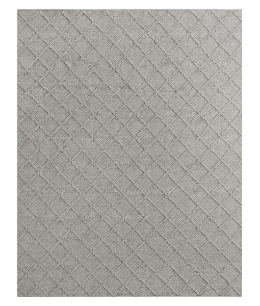 Outdoor Trellis Rug off-white