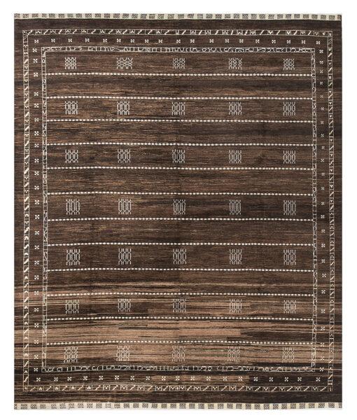 gabbeh brown striped
