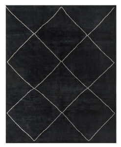 black gabbeh rug