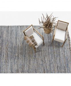 Denim and Jute Rug