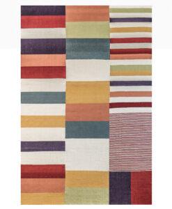 multi coloured piano rug