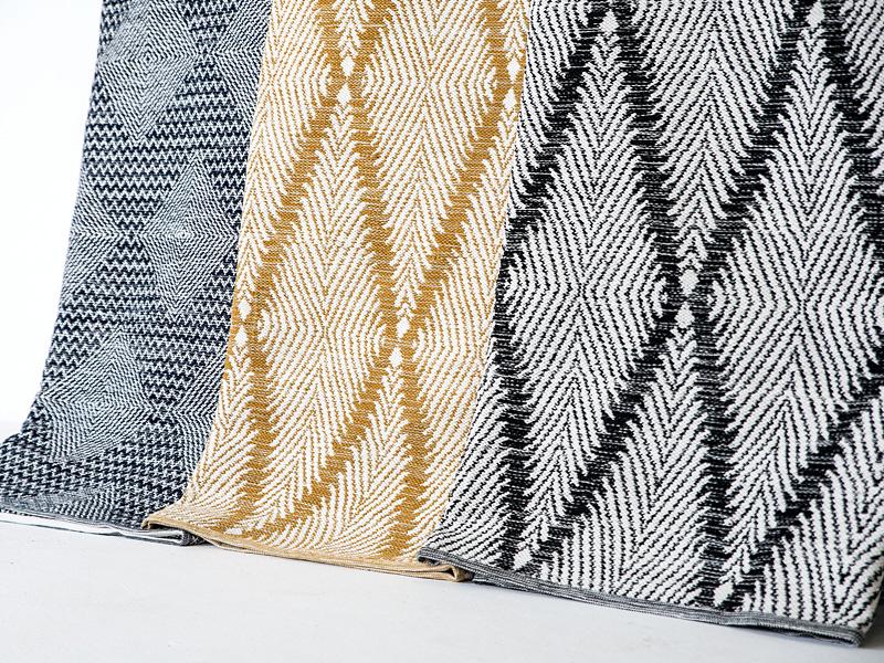 Herringbone outdoor rugs